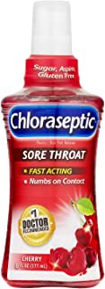 Chloraseptic Sore Throat Spray, Cherry Flavor, 6 oz