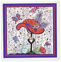 シンディ・Thorrington Haggertyレッド帽子アート–Mommasレッド帽子Dreams–グリーティングカード Set of 12 Greeting Cards