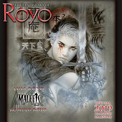 The Fantasy Art of Royo 2019 Wall Calendar