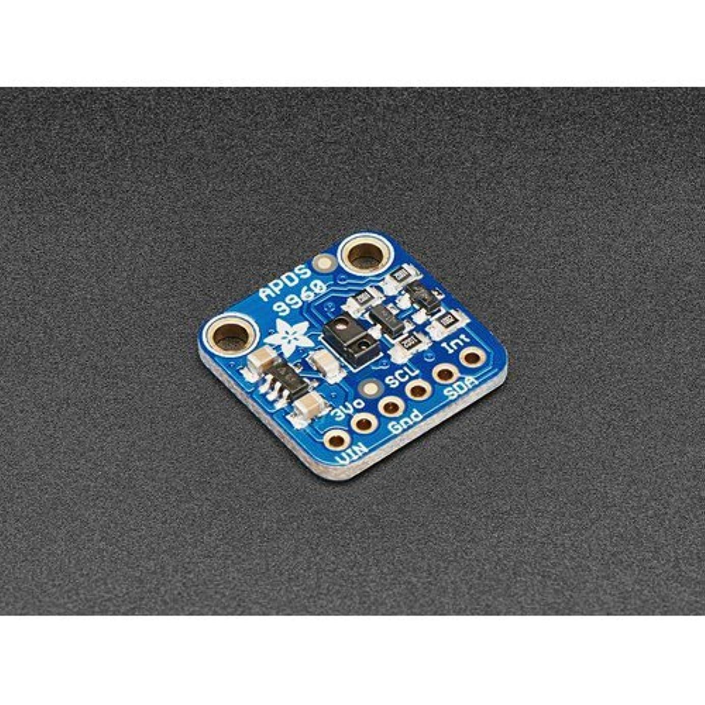 一時的テスト激しいAPDS9960搭載 ジェスチャーセンサ(RGB、環境光、近接距離センサ付き)