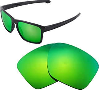 Walleva Replacement Lenses for Oakley Sliver XL Sunglasses - Multiple Options Available
