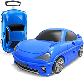 YCYHMYF car Luggage Boarding case Student Child 18 inch Trolley case Storage Box (Blue)