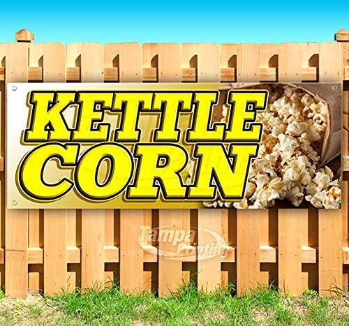 Kettle Corn 13 oz Banner Non-Fabric Heavy-Duty 4 years warranty Wholesale Vinyl Single-