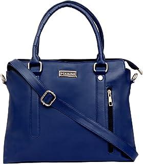 Pinkish Leatherette Handbags For Women's Ladies PK-Daily-027 PK-03 Blue