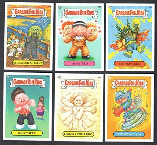 LOT OF 100 RANDOM GARBAGE PAIL KIDS CARDS FROM NEW SERIES