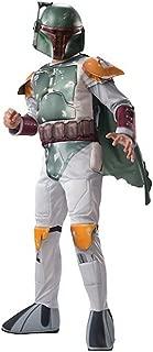 Disney Star Wars Boys' Boba Fett Muscle Costume