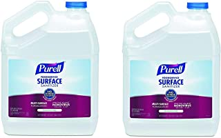 PURELL Foodservice Surface Sanitizer, Fragrance Free, 1 Pour Gallon EPA Certified Surface Sanitizer (Case of 4) - 4341-04 (2 X Pack of 4)