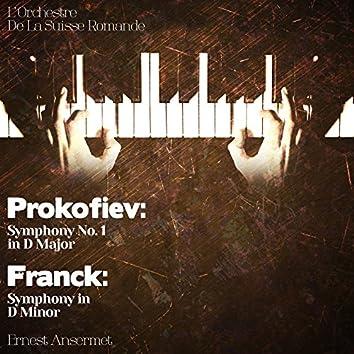 Prokofiev: Symphony No. 1 in D Major - Franck: Symphony in D Minor