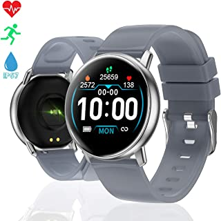 TagoBee Smart Watch for Android Phone iOS Phone, TB15 Fitness Tracker iP67 Waterproof Smartwatch with Heart Rate Monitor,Pedometer,Sleep Tracker,Fitness Watch Compatible for iPhone for Women Men