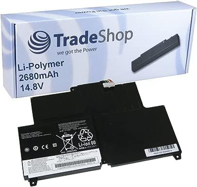 Trade-Shop Hochleistungs Li-Polymer Akku 14 4V 14 8V 2680mAh f r Lenovo Thinkpad S230u Lenovo Thinkpad Twist S230u Lenovo ThinkPad Edge S230u ersetzt 45N1092 45N1093