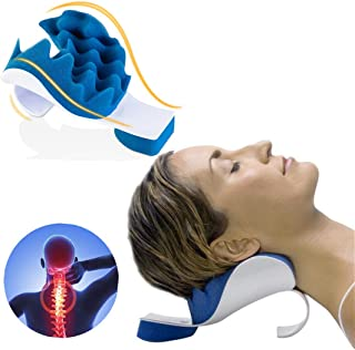 Zabrina Chiropractic Pillow, Cervical Neck Pillow, Neck Massage Cervical Pillow, Chiropractic Pillow for Neck Pain Relief,...