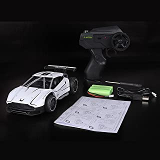 Pantan 2.4G 4CH 1/24 Alloy RC Cars ,Radio Control High Speed Chargable Racing Car Drift Driving Toys for Kids Water Blue