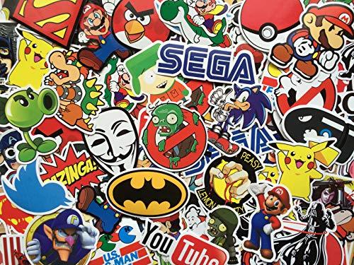 SBS Geek Sticker-Set, Videospiele, Gamer, Spielkonsole, Nintendo etc. Kostenlose Auswahl