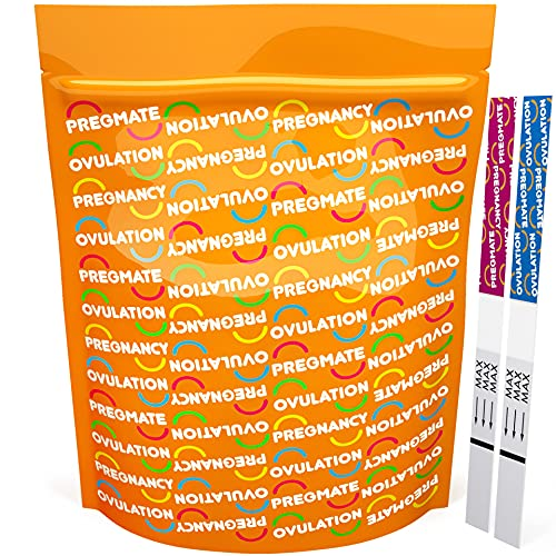 PREGMATE 100 Ovulation and 50 Pregnancy Test Strips...