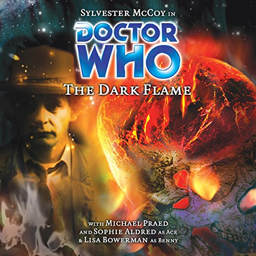 Doctor Who - The Dark Flame audiobook cover art