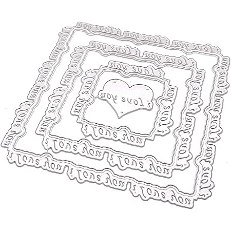 Love You Planner Page Set Metal Cutting Dies Stencils for DIY Scrapbooking photo