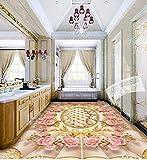 Wongxl Paquete Blando Autoadhesivas Continental Hotel Lujoso Salón Wall-Carteles A La 300cmX250cm