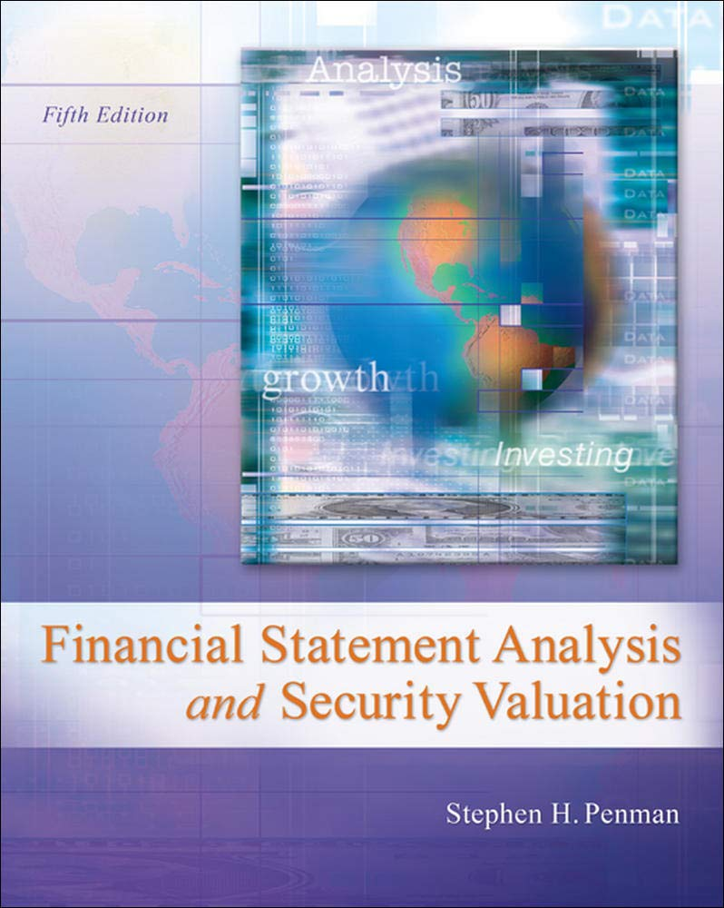 Image OfFinancial Statement Analysis And Security Valuation