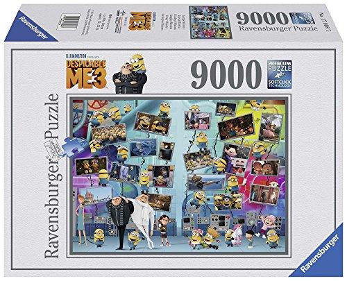 Ravensburger-00.017.808 Puzzles 9000 Piezas, GRU, Mi Villano Favorito 3 (17808)