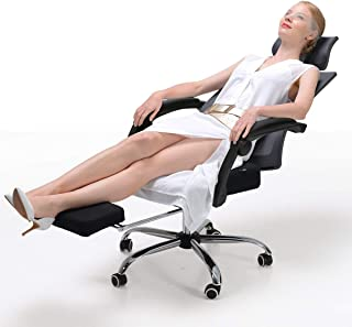 Hbada Ergonomic Office Recliner Chair - High-Back Desk Chair Racing Style with Lumbar Support - Height Adjustable Seat, He...