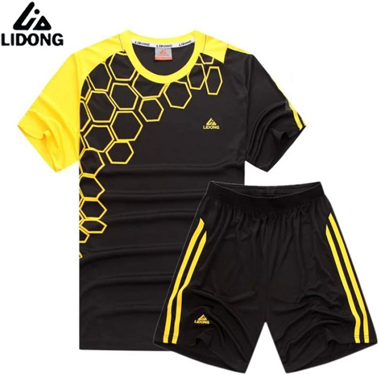 LBLZG Mnner Frauen Fuball Sets Fuball Trikot Kit Sport Kleidung Uniformen Trainingsanzüge Atmungsaktiv Schnell