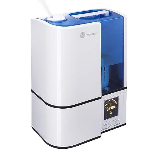 TaoTronics Humidificador 4L Bebé (Vapor Frío, Modo de Sueño, 3 Niveles de Humedad