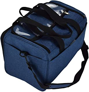 IPOTCH Yarn Bag Knitting Bag Crochet Bag Yarn Storage Organizer Large Yarn Knitting Tote Bag Knitting Storage Bag Large Tote Bag【Oxford Cloth】 - Blue