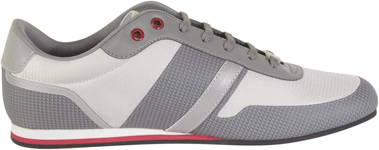 Hugo Boss Mens Lighter Medium Grey Fashion Sneakers Shoes Sz