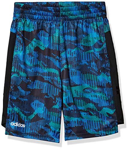 adidas Boys' Big Active Sports Athletic Mesh Short, Core Camo Team Royal Blue, Medium