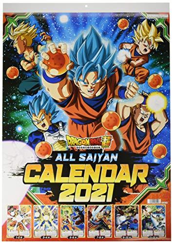Dragon Ball Super 2021 Official Wall Calendar Anime Ensky Japan