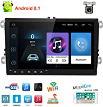 Double Din Car Stereo Android 8.1 Car Radio Bluetooth 9