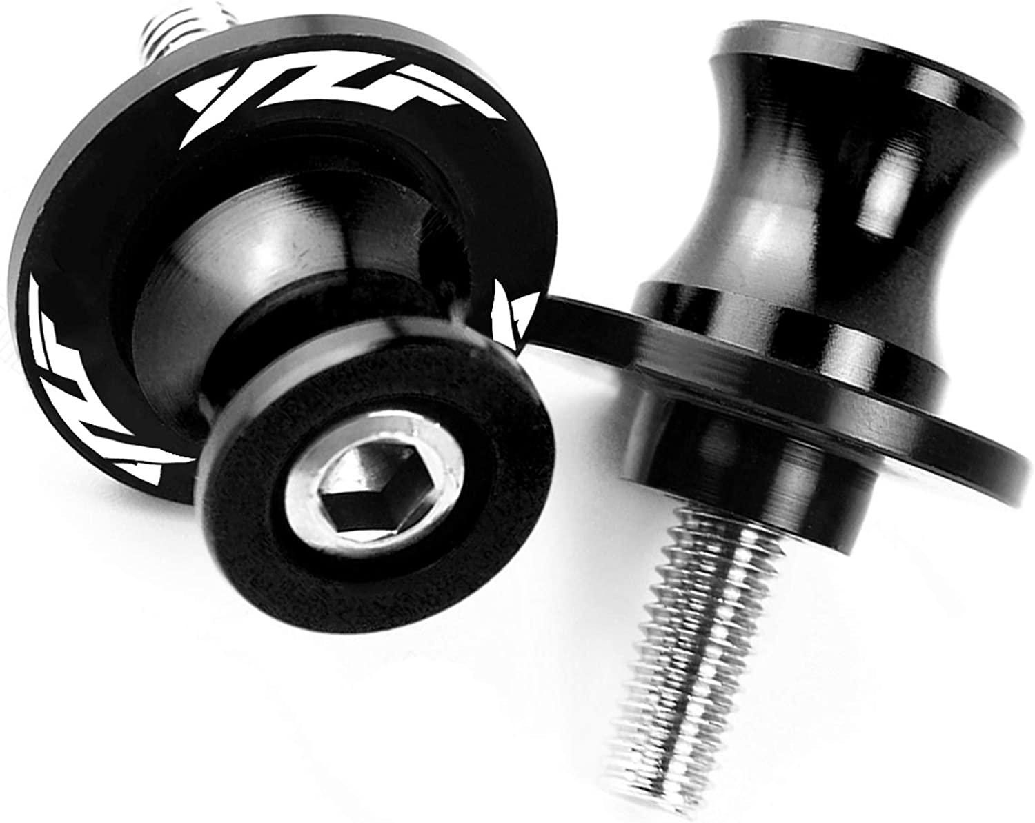 M6 Motorcycle Accessories CNC Aluminum Swingarm Spools Slider Stand Screw For Yamaha YZF R1 R3 R6 R25 R1000 Blue
