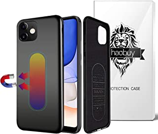 Magnetic Case for iPhone 11, Ultra Thin Magnetic Phone Case for Magnet Car Phone Holder with Invisible Built-in Metal Plat...