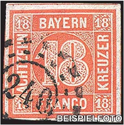 Goldhahn Bayern Nr. 13 gestempelt Briefmarken für Sammler