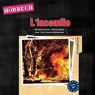 L'incendio (PONS Hörbuch Italienisch) Titelbild
