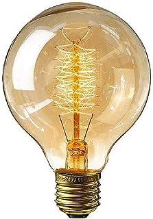 Vintage gloeilamp, E27 Retro LED decoratieve lampen Globe gloeilamp Dimbare gloeilamp Wolfraam gloeilamp voor nostalgie en...