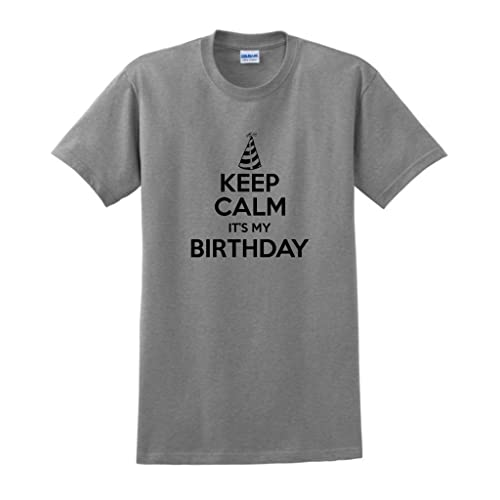 ThisWear Keep Calm Its My Birthday T Shirt
