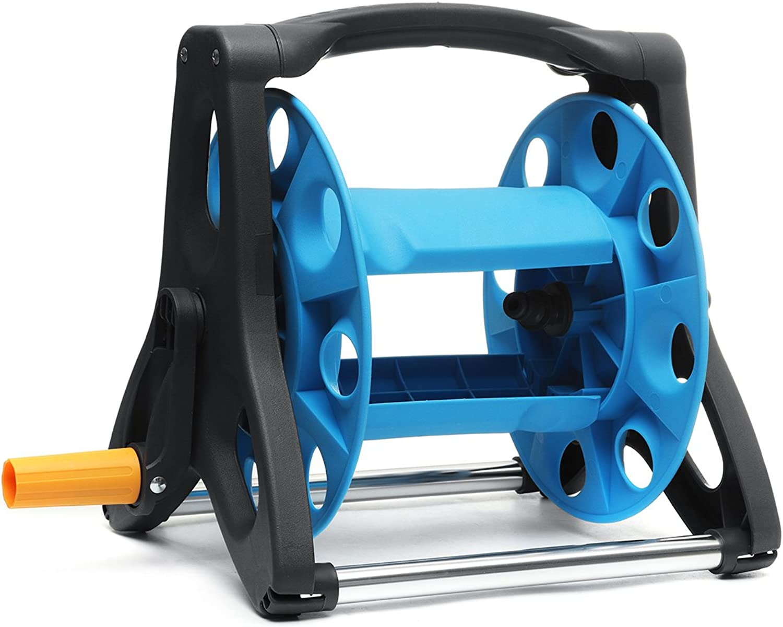 ChaRLes 25M Portable Hose Reel Bewsserungsventil Pipe Clip Reel Reel Reel Rast Wasserrohr-Speicher