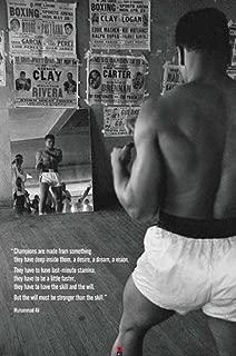 muhammad ali training poster