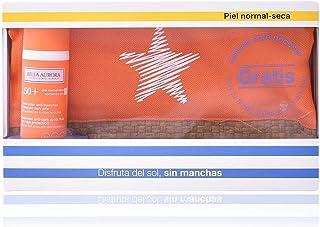 Bella Aurora Set De Gel-Crema Anti-Manchas Para Piel Normal-Seca SPF 50 y Neceser