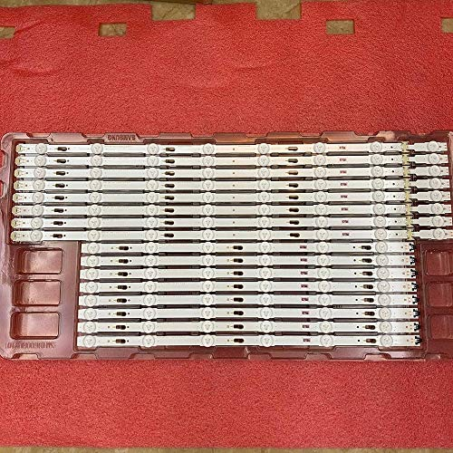 Tira de retroiluminación LED para Samsung UE60KU6000 UN60JU7100F UE60JU6000 CY-GK060HQSV1H GJ060HGSV7H LM41-00120X 00120Y...