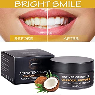 Aktivkohle Pulver Zahnaufhellung,Activated Charcoal Teeth Whitening Powder,Charcoal..