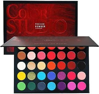 35 Color Shades Studio Glitter Eyeshadow Palette Highlighter Shimmer Make up Pigment Eye Shadow Pallete matte