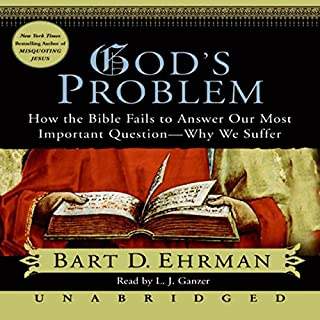 God's Problem audiobook cover art