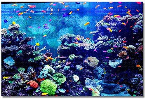 gaozhong.co USA Amerika Newport Aquarium Kentucky Puzzles für Erwachsene Kinder 1000 Stück Holzpuzzlespiel für Geschenke Home Decoration Special Travel Souvenirs