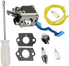 HURI Carburetor with Adjustment Tool Kit Screwdriver Primer Bulb for Husqvarna 125B 125BX 125BVX C1Q-W37 545081811