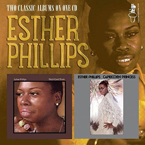 BLACK-EYED BLUES/CAPRICORN PRINCESS -Esther Phillips -CD Album