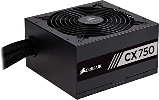 Corsair CP-9020061-UK Builder Series CXM750 ATX/EPS Semi-Modular 80 PLUS Bronze Power Supply Unit, 750 W - Black