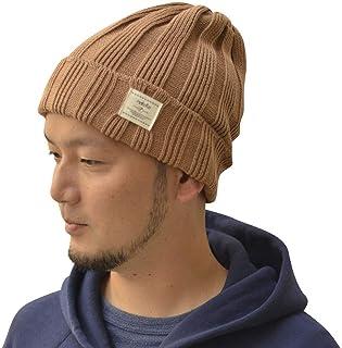 Nakota (ナコタ) コットンリブ ニットキャップ 日本製 帽子 ニット帽 コットン100% ワッチキャップ ビーニー メンズ レディース 春 夏 秋 冬