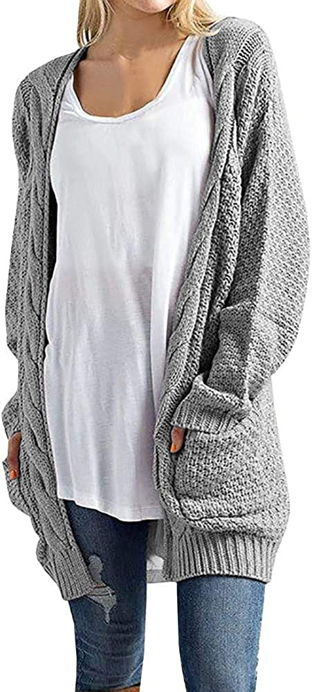 Imily Animer and price revision Bela Women's Boho Long Sleeve Max 86% OFF Open Front Warm Cardi Chunky